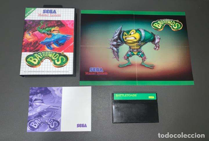 VIDEOJUEGO BATTLETOADS - SEGA MASTER SYSTEM - COMPLETO (Juguetes - Videojuegos y Consolas - Sega - Master System)