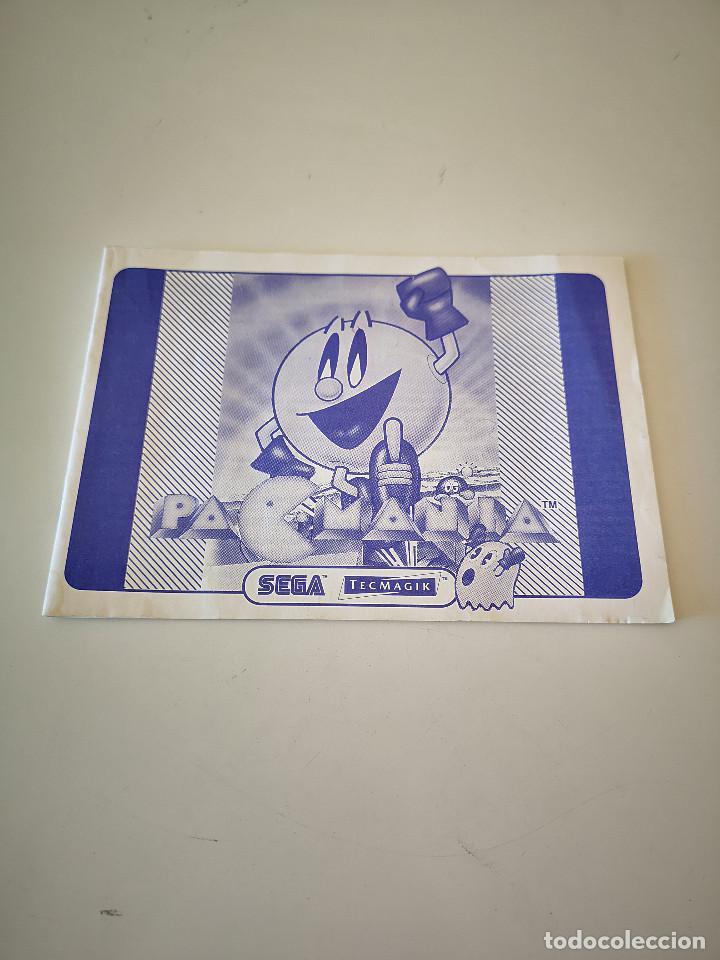 PACMANIA MASTER SYSTEM MANUAL DE INSTRUCCIONES SEGA PAC MANIA JUEGO MUY RARO (Juguetes - Videojuegos y Consolas - Sega - Master System)