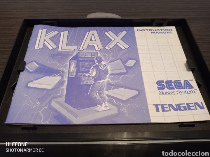Videojuegos y Consolas: Antiguo Cartucho VideoJuego KLAX by TENGEN - Foto 6 - 229531180