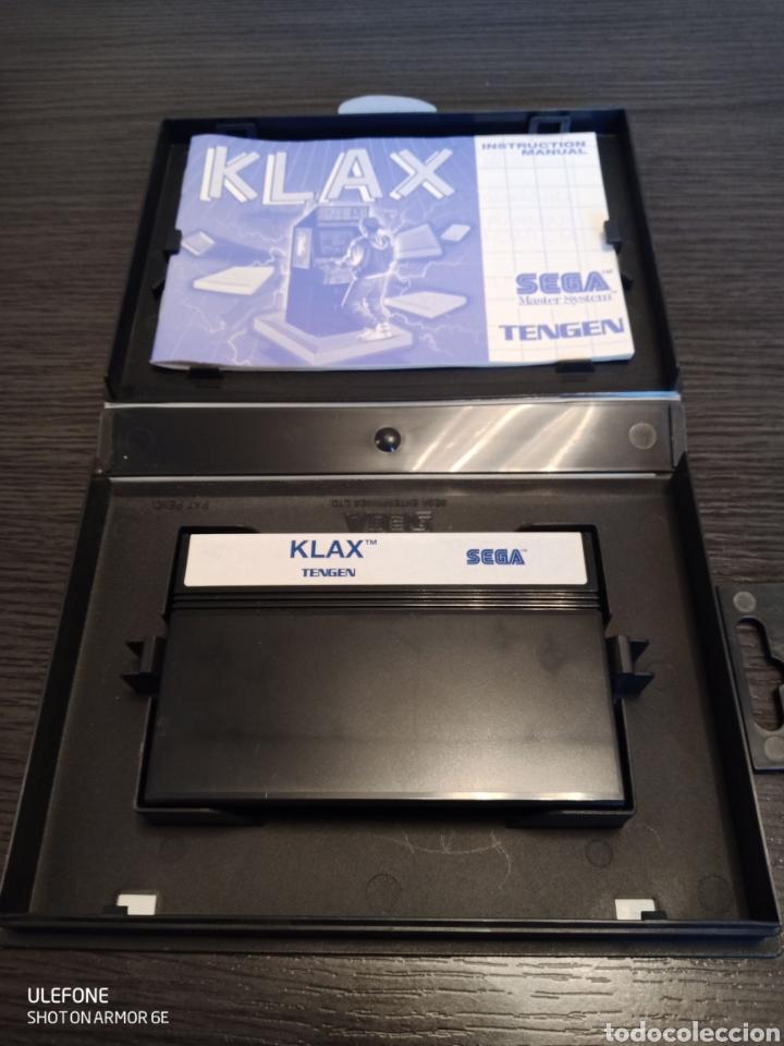 Videojuegos y Consolas: Antiguo Cartucho VideoJuego KLAX by TENGEN - Foto 8 - 229531180