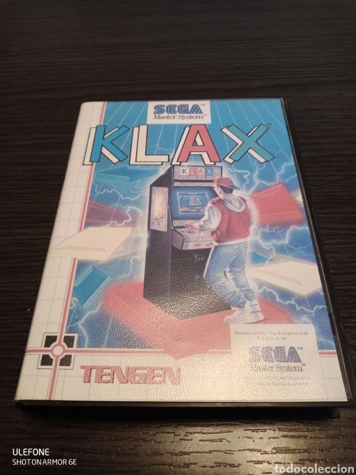 ANTIGUO CARTUCHO VIDEOJUEGO KLAX BY TENGEN (Juguetes - Videojuegos y Consolas - Sega - Master System)