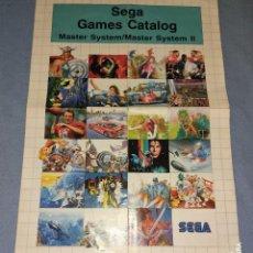 Videojuegos y Consolas: CATALOGO DE JUEGOS DE LA CONSOLA MASTER SYSTEM II SEGA. Lote 230674770