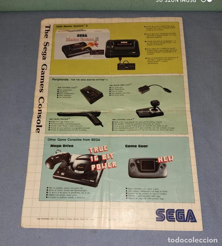 Videojuegos y Consolas: CATALOGO DE JUEGOS DE LA CONSOLA MASTER SYSTEM II SEGA - Foto 3 - 230674770
