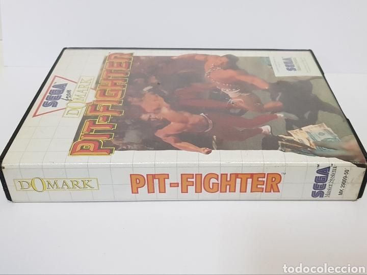 Videojuegos y Consolas: PIT-FIGHTER - SEGA MASTER SYSTEM / COMPLETO - Foto 4 - 232534245