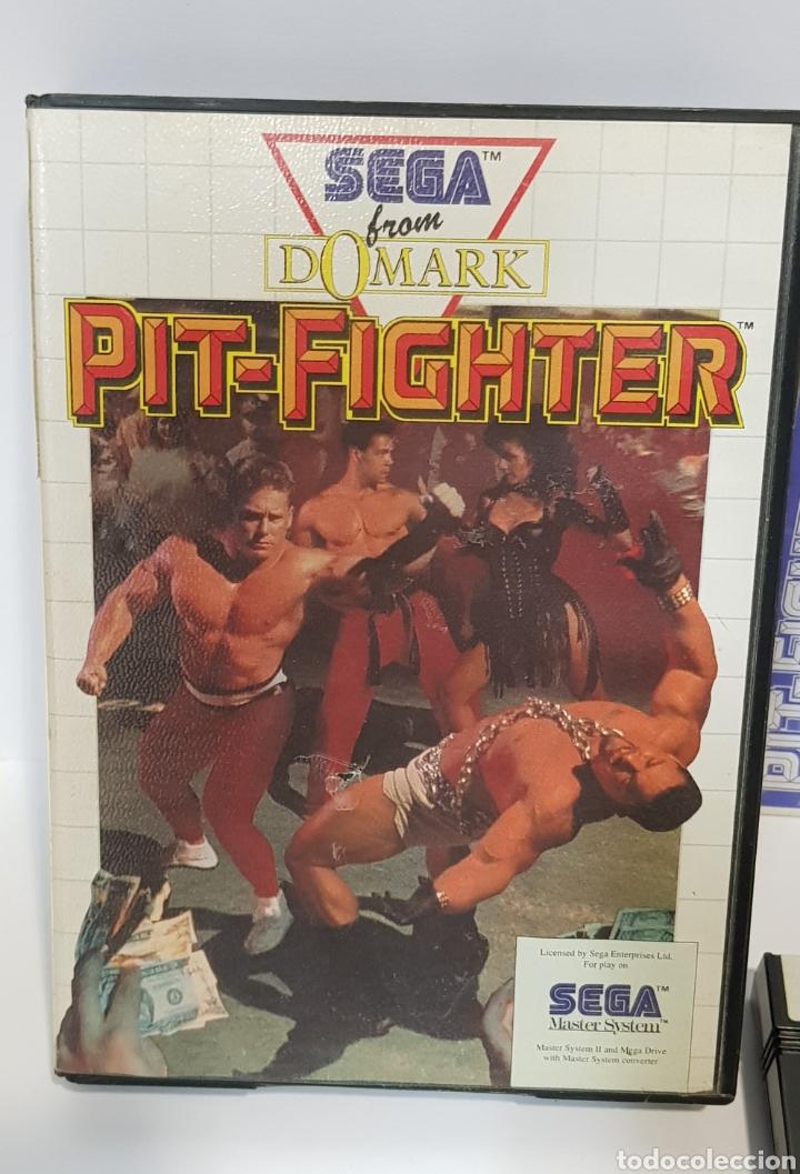 PIT-FIGHTER - SEGA MASTER SYSTEM / COMPLETO (Juguetes - Videojuegos y Consolas - Sega - Master System)