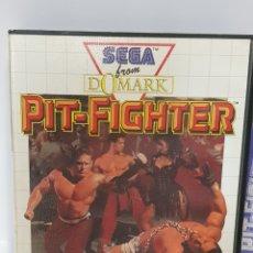 Videojuegos y Consolas: PIT-FIGHTER - SEGA MASTER SYSTEM / COMPLETO. Lote 232534245