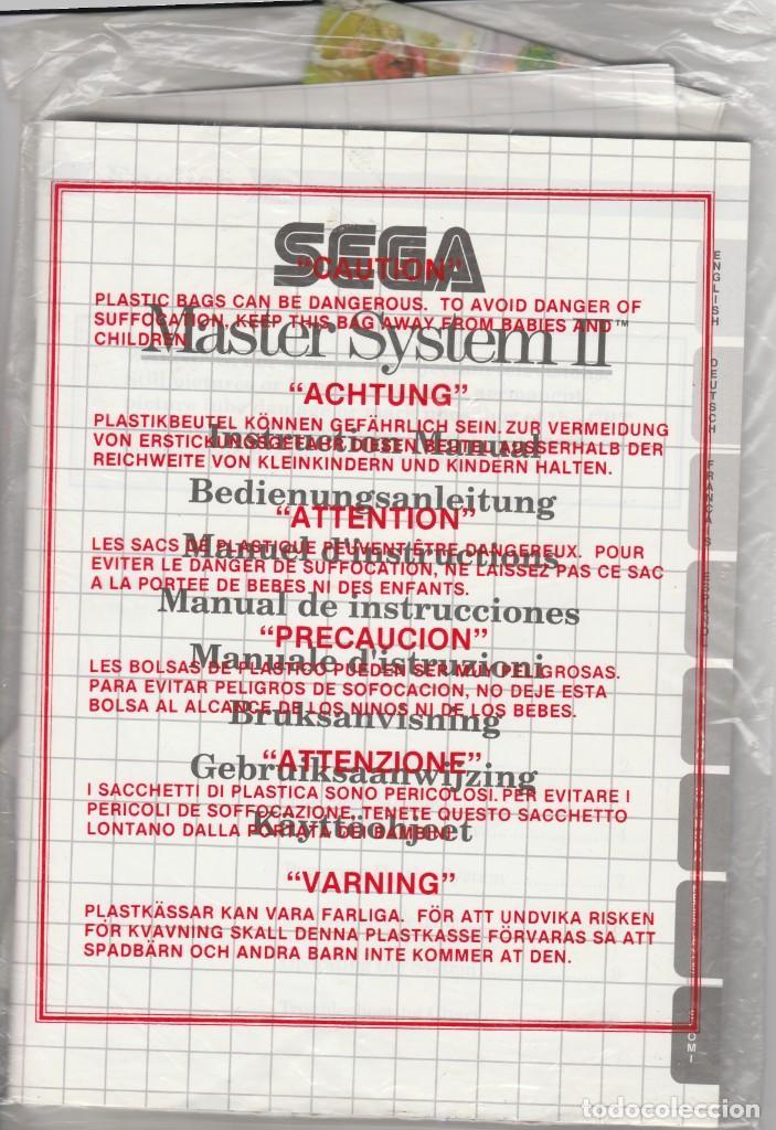 Videojuegos y Consolas: CONSOLA SEGA MASTER SYSTEM 2 - ALEX KIDD Y SONIC INCLUIDOS - CASI COMPLETO - PROBADO Y FUNCIONANDO - Foto 14 - 233327205
