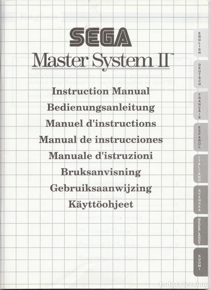 Videojuegos y Consolas: CONSOLA SEGA MASTER SYSTEM 2 - ALEX KIDD Y SONIC INCLUIDOS - CASI COMPLETO - PROBADO Y FUNCIONANDO - Foto 15 - 233327205