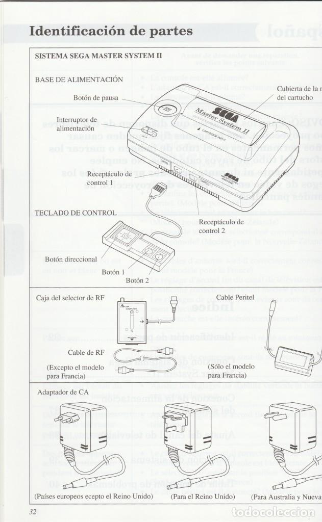 Videojuegos y Consolas: CONSOLA SEGA MASTER SYSTEM 2 - ALEX KIDD Y SONIC INCLUIDOS - CASI COMPLETO - PROBADO Y FUNCIONANDO - Foto 16 - 233327205