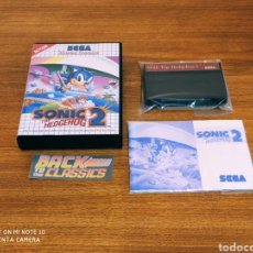 Videojuegos y Consolas: SONIC 2 SEGA MÁSTER SYSTEM. Lote 233413965