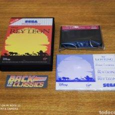 Videojuegos y Consolas: EL REY LEÓN SEGA MASTER SYSTEM. Lote 233586535
