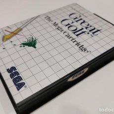 Videogiochi e Consoli: GREAT GOLF SEGA MASTER SYSTEM. Lote 233612265