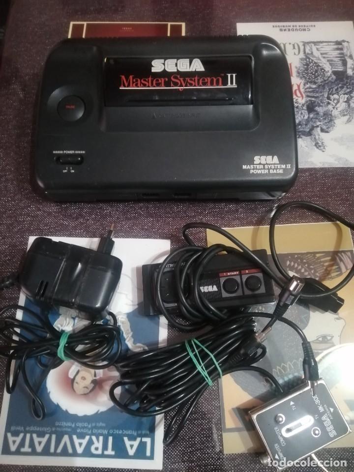 CONSOLA MASTER SYSTEN II (Juguetes - Videojuegos y Consolas - Sega - Master System)