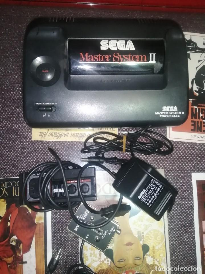 CONSOLA MASTER SYSTEN II , (Juguetes - Videojuegos y Consolas - Sega - Master System)