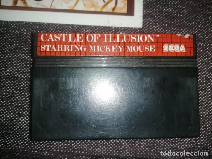 CASTLE OF ILLUSION. STARRIN MICKEY MOUSE. JUEGO SEGA MASTER SYSTEM (Juguetes - Videojuegos y Consolas - Sega - Master System)