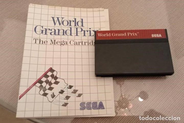 GRAND PRIX SEGA MASTER SYSTEM CON CARÁTULA (Juguetes - Videojuegos y Consolas - Sega - Master System)