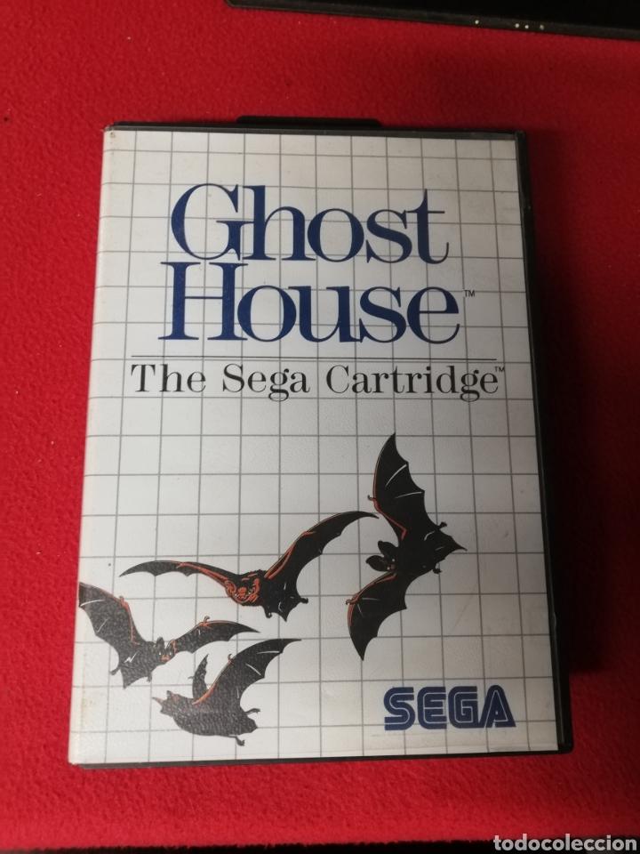 GHOST HOUSE (Juguetes - Videojuegos y Consolas - Sega - Master System)
