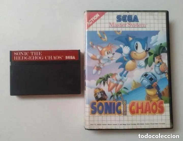 SONIC CHAOS MASTER SYSTEM (Juguetes - Videojuegos y Consolas - Sega - Master System)