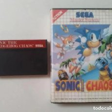 Videojuegos y Consolas: SONIC CHAOS MASTER SYSTEM. Lote 235526985