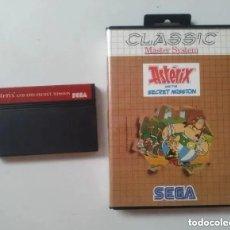 Videojuegos y Consolas: ASTERIX MASTER SYSTEM. Lote 235527140