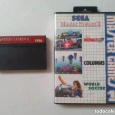 Videojuegos y Consolas: MASTER GAMES 1 MASTER SYSTEM. Lote 235527330