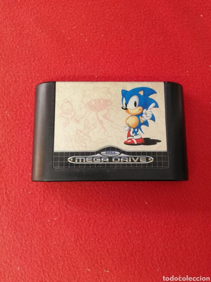 SONIC THE HEDGEHOG (Juguetes - Videojuegos y Consolas - Sega - Master System)