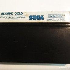 "Videojuegos y Consolas: SEGA MASTER SYSTEM ""OLYMPIC GOLD"". Lote 236253805"