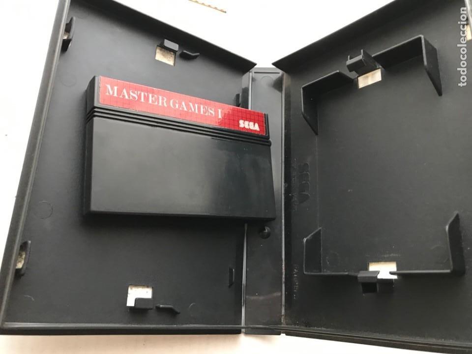 SEGA MASTER SYSTEM II 2 MASTER GAMES 1 MONACO GP COLUMS WORLD SOCCER KREATEN (Juguetes - Videojuegos y Consolas - Sega - Master System)