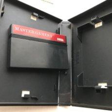 Videojuegos y Consolas: SEGA MASTER SYSTEM II 2 MASTER GAMES 1 MONACO GP COLUMS WORLD SOCCER KREATEN. Lote 236443465