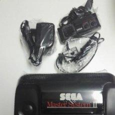 Videojuegos y Consolas: SEGA MASTER SISTEM 2 + JUEGO ALIEM STORM. Lote 236542390