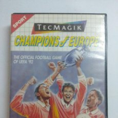 Videojuegos y Consolas: CHAMPIONS OF EUROPE/JUEGO SEGA MASTER SYSTEM.. Lote 239462545