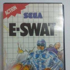 Videojuegos y Consolas: E-SWAT/JUEGO SEGA MASTER SYSTEM.. Lote 239465055