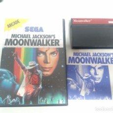 Videojuegos y Consolas: MOONWALKER MASTER SYSTEM ENTRE Y MIRE MIS OTROS JUEGOS!!. Lote 240230595