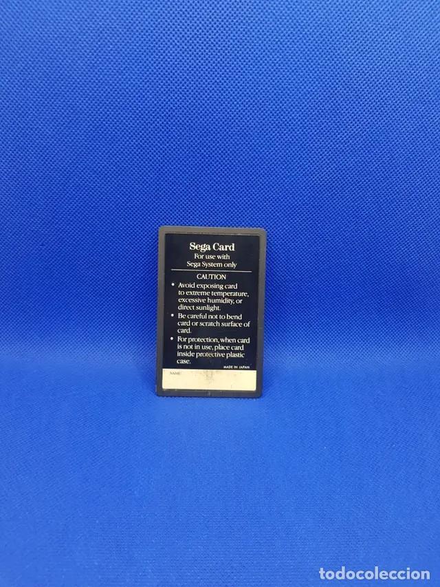 Videojuegos y Consolas: hang on tarjeta / card master system 1 - Foto 2 - 241282795