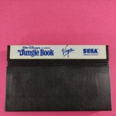 Videojuegos y Consolas: THE JUNGLE BOOK, CARTUCHO MÁSTER SYSTEM. Lote 242046380