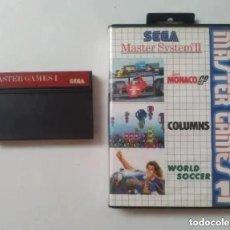 Videojuegos y Consolas: MASTER GAMES 1 MASTER SYSTEM. Lote 242055240
