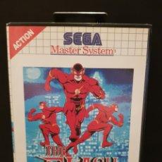 Videojuegos y Consolas: JUEGO THE FLASH PARA CONSOLA SEGA MASTER SYSTEM. AÑO 1993. Lote 242849520