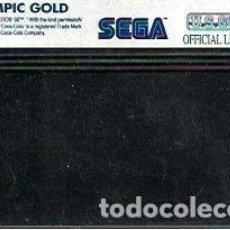 Videojuegos y Consolas: JUEGO MASTER SYSTEM OLYMPIC GOLD - SOLO CARTUCHO. Lote 243440410