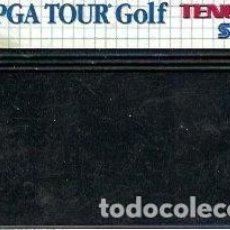 Videojuegos y Consolas: JUEGO MASTER SYSTEM PGA TOUR GOLF - SOLO CARTUCHO. Lote 243442590