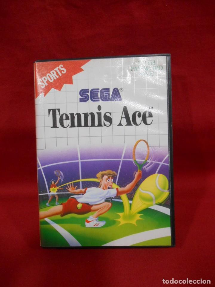 JUEGO DE SEGA MASTER SYSTEM - TENNIS ACE - (Juguetes - Videojuegos y Consolas - Sega - Master System)
