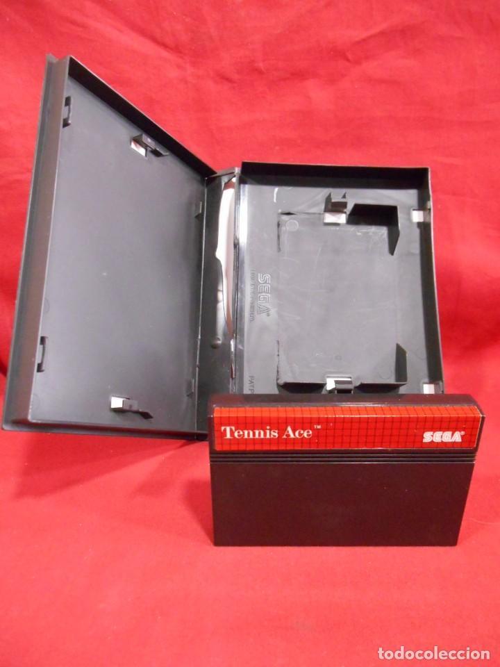 Videojuegos y Consolas: JUEGO DE SEGA MASTER SYSTEM - TENNIS ACE - - Foto 3 - 243521260
