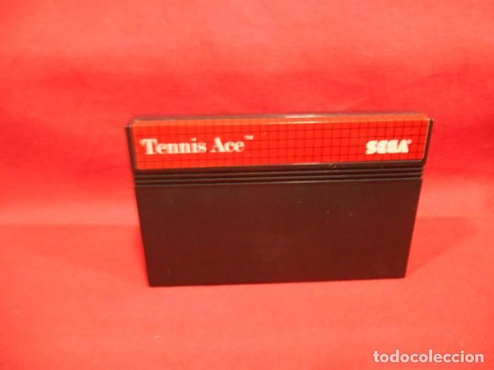 Videojuegos y Consolas: JUEGO DE SEGA MASTER SYSTEM - TENNIS ACE - - Foto 4 - 243521260