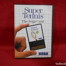 Videojuegos y Consolas: JUEGO DE SEGA MASTER SYSTEM - SUPER TENNIS -. Lote 243521345