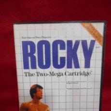 Videojuegos y Consolas: JUEGO DE SEGA MASTER SYSTEM - ROCKY -. Lote 243521405