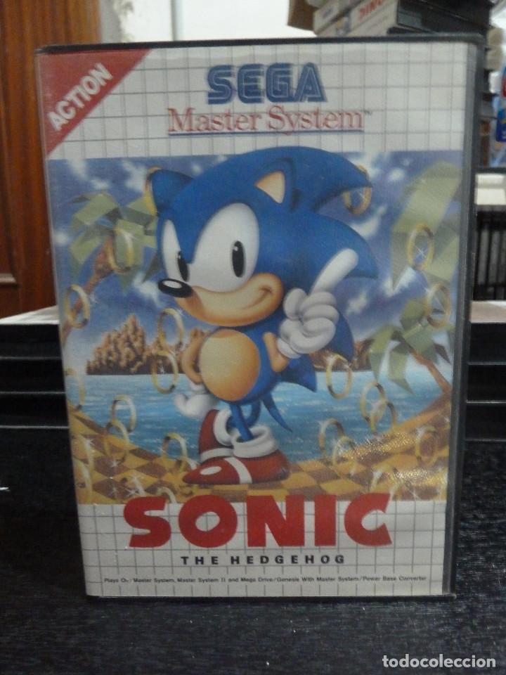 JUEGO DE MASTER SYSTEM SONIC THE HEDGEHOG (Juguetes - Videojuegos y Consolas - Sega - Master System)