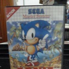 Videojuegos y Consolas: JUEGO DE MASTER SYSTEM SONIC THE HEDGEHOG. Lote 244704330