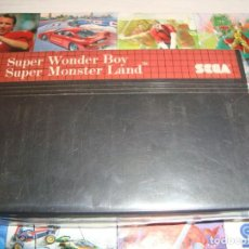 Videojuegos y Consolas: SEGA MASTER SYSTEM ** SUPER WONDER BOY - SUPER MONSTER LAND - PAL US. Lote 244813715