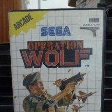 Videojuegos y Consolas: JUEGO DE MASTER SYSTEM OPERATION WOLF. Lote 244945755