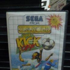 Videojuegos y Consolas: JUEGO DE MASTER SYSTEM SUPER KICK OFF. Lote 244947080