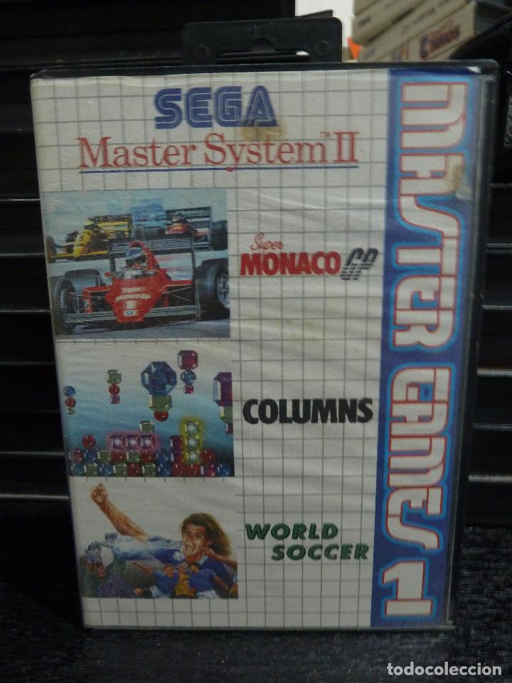 MASTER SYSTEM MASTER GAMES 1 (Juguetes - Videojuegos y Consolas - Sega - Master System)